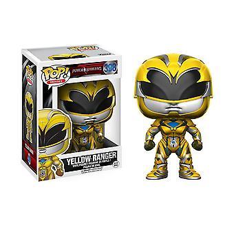 Power Rangers Movie Yellow Ranger Pop vinyyli kuva