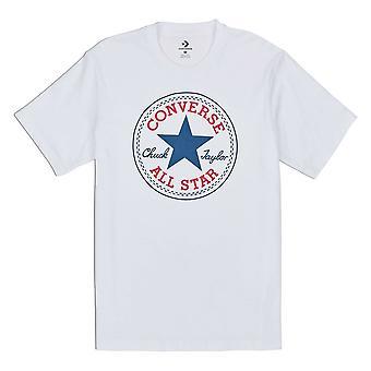 Converse Chuck Patch 10007887A04 universel toute l'année t-shirt homme