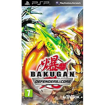 Bakugan Battle Brawlers Defender van de core (PSP)-fabriek verzegeld