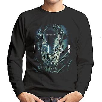 Aliens This Time Its War Men's Sweatshirt