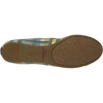 ED Ellen DeGeneres Womens Lilliane Leather Closed Toe Slide Flats