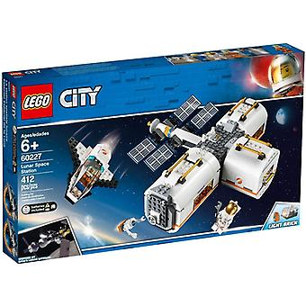 LEGO 60227 space Station on the moon