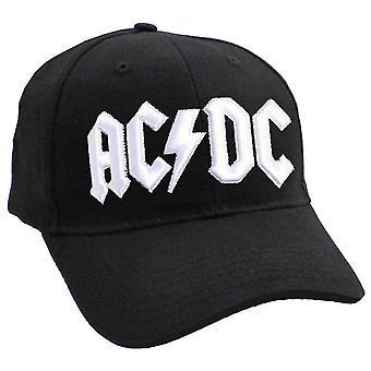 AC/DC Baseball Cap biały Classic zespół Logo Official nowy pasek powrót