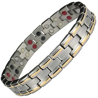 MPS® AVERSA 4 in 1 Titanium Magnetic Bracelet + FREE Links Removal Tool
