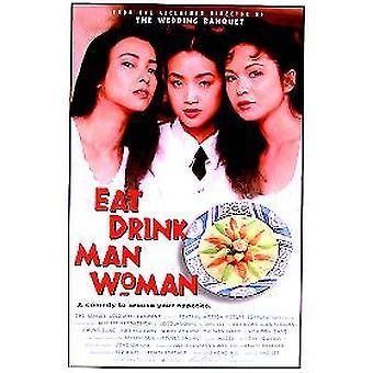 Eat Drink Man Woman (Single Sided) Original Cinema Poster (en anglais seulement)