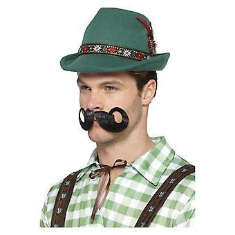 Lujo alpino Trenker sombrero disfraces accesorios