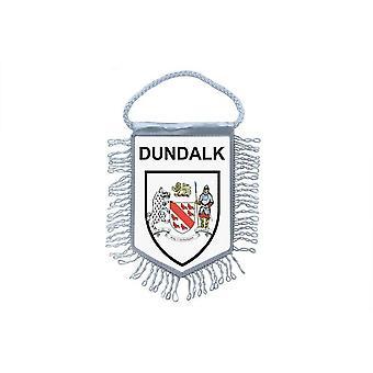 Sinalizar mini bandeira país carro decoração lembrança Blason Dundalk