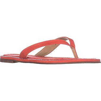 TS35 Beda plano Flip Flop sandalias - Coral