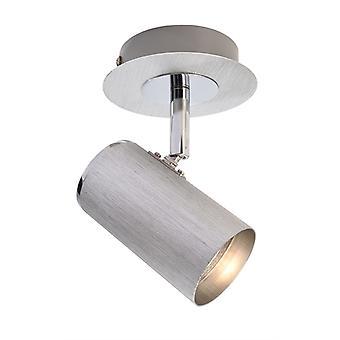 Lampe de plafond Indi I GU10 1x50W x 100mm argent 1 flamme