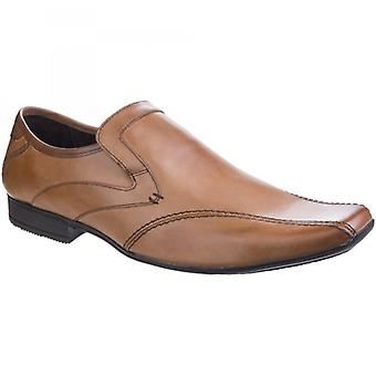 Base London Sphere Excel Mens Leather Loafers Tan