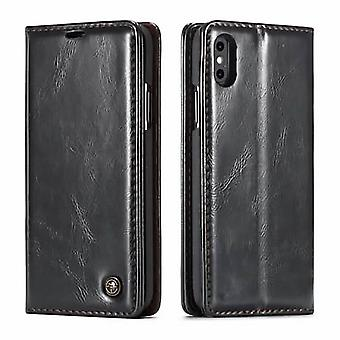Case voor iPhone Xs Max Zwarte Kaarthouder
