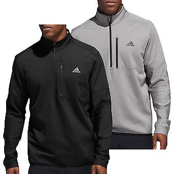 adidas Golf Herren Climawarm Gridded 1/4 Zip Pullover
