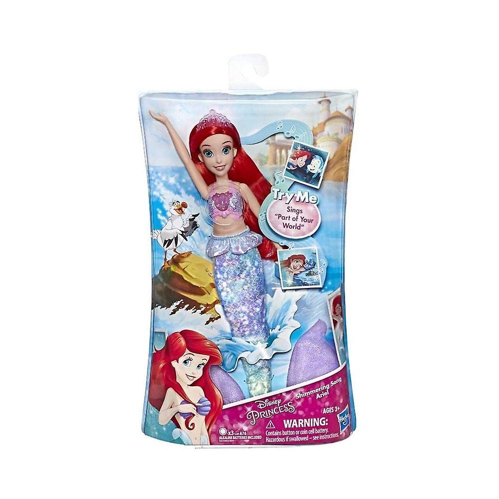 Disney Princess Ariel sjungande skimmer docka