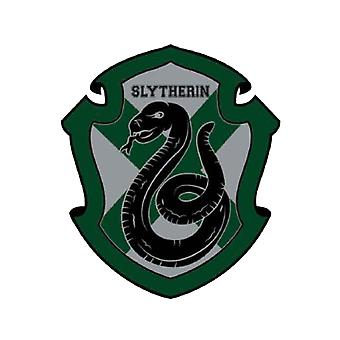 Harry Potter Fridge Magnet Slytherin Varsity Crest Official Green 9x6.5cm PVC