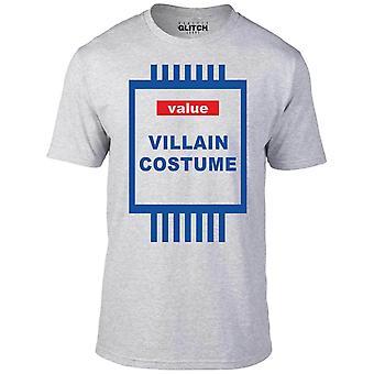 Värde skurken kostym t-shirt