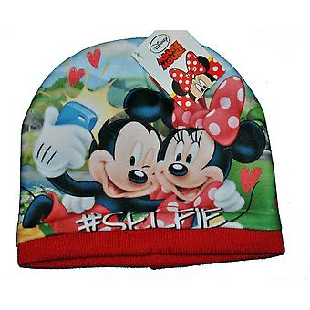 Mickey and Minnie Cap - Red