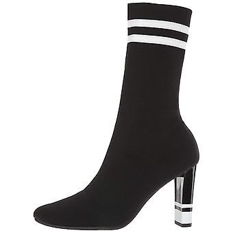 Circus by Sam Edelman Women's Joy Fashion Boot, Black/White, 5.5 Medium US
