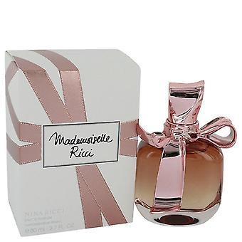 Mademoiselle ricci eau de parfum spray by nina ricci 492926 80 ml