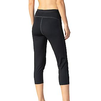 Mey 68011-003 Women's Performance Black Calf Length Leggings