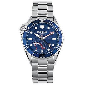 Watch Beuchat Ocea Power Reserve BEU0097-3 - blue AFN e man