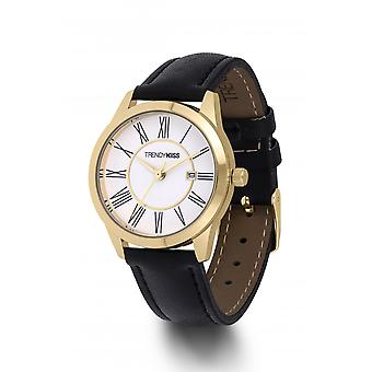 Watch Trendy Kiss TG10120-07 - brunette black and gold woman