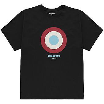 Lambretta Unisex yksikkö lyhythihainen Crew Neck säiliö tee alkuun T-paita T-paita