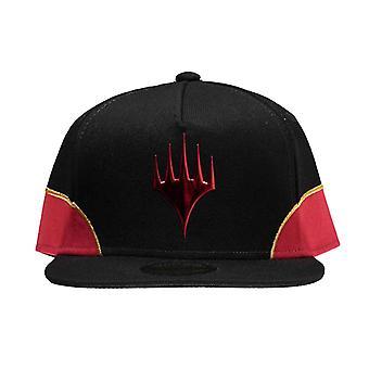 Kouzlo shromáždění baseballové Čapka WOTC Chandra logo nový oficiální černý SnapBack