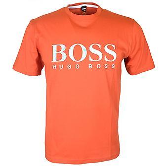 Hugo Boss Bumper Paris 4 coton imprimé Logo T-shirt Orange