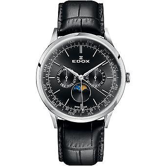 Edox 40101 3C NIN Les Vauberts Men's Watch
