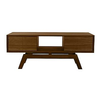 Fusion Living Dänische Medium Walnut Media Unit