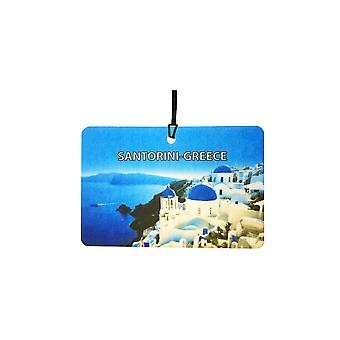 Santorini - Greece Car Air Freshener