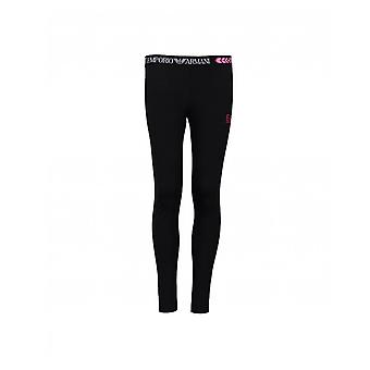 Ea7 Logo Waistband Leggings