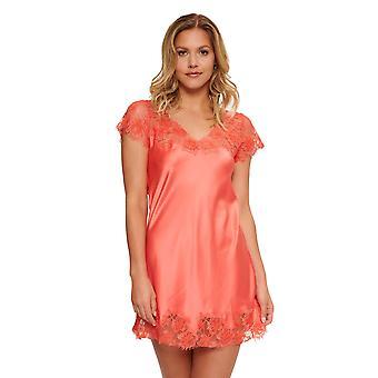 LingaDore 5024S-11 Women's Canya Coral Pink Nightdress