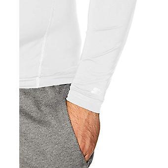 Starter Men's Compression Mockneck Top,  Exclusive, White, L
