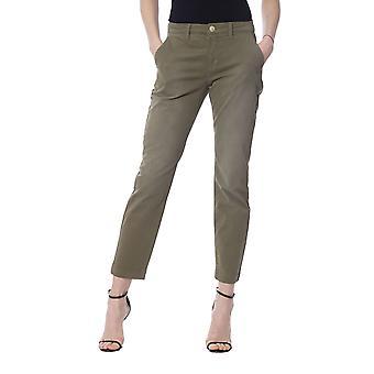Silvian Heach Women's Military Green Jeans
