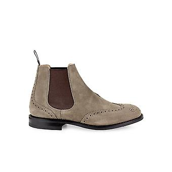 CHURCH'S RAVENFIELD MUD SUEDE CHELSEA BOOT