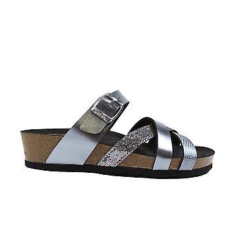 Ara Bali 17272-05 Grey Womens Slip On Mule Sandals