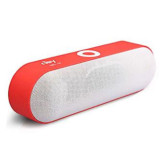 NBY NBY-18 Mini Wireless Soundbar Loudspeaker Wireless Speaker Box Bluetooth 3.0 Red