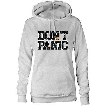 Moletom feminino capuz hoodie - Don't Pânico