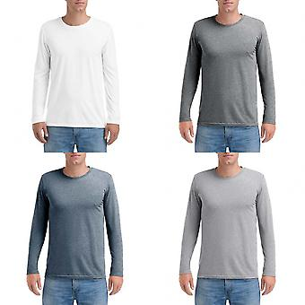 Anvil Mens Triblend Long-Sleeve Tee