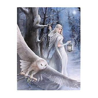 Anne Stokes Midnight Messenger Canvas Plaque