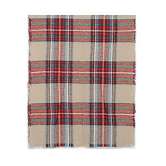 Intrigue Womens/Ladies Check Blanket Scarf