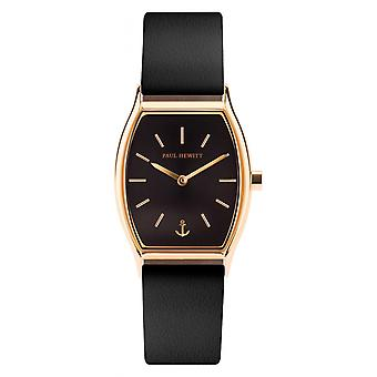 Shows Paul Hewitt PH - T - G - BS - 32 S - watch leather black woman