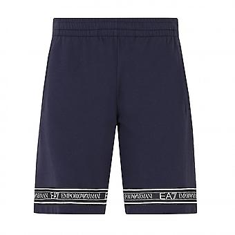 EA7 Emporio Armani Men's Navy Blue Shorts