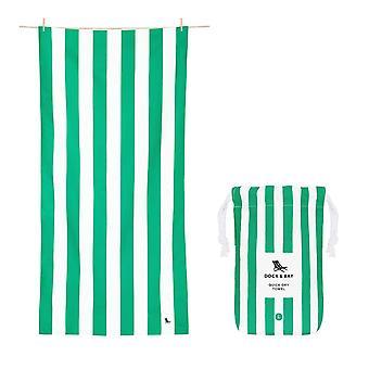 Dock & bay quick dry towel - cabana - cancun green