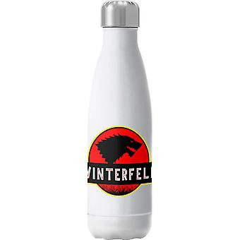 Stark Winterfell Jurassic Park Game Of Thrones Insulated Stainless Steel Water Bottle