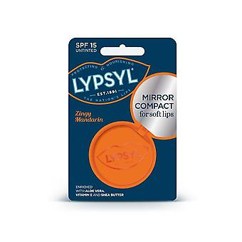 Lypsyl Mirror Compact For Soft Lips SPF 15 Zingy Mandarin