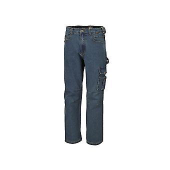 Beta 075250058 7525 XXX/L Xxx/store arbeid Jeans i Stretch Denim bomull