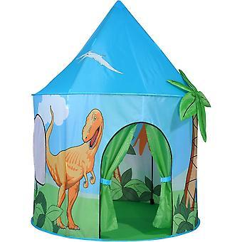 Espírito do Reino de crianças de ar Pop barraca de jogo de dinossauro