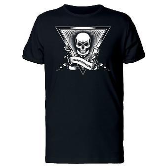 Memento Mori B&W Skull Tee homme-Image de Shutterstock